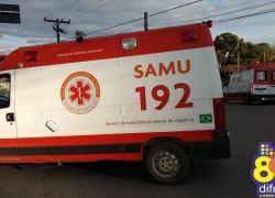Dois ficam feridos em acidente no Botafogo em Bento