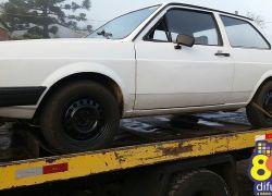 Veículo furtado é localizado pela Brigada no Santo Antão em Bento