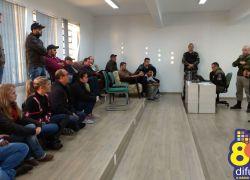 Moradores do Ouro Verde vão à Brigada pedir reforço no policiamento em Bento