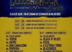 1ª Edição do Festival Celebra Rock inicia dia 13 em Bento