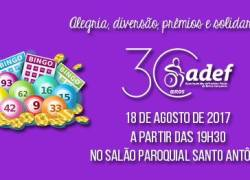 Associação dos Deficientes Físicos de Bento Gonçalves promove bingo beneficente