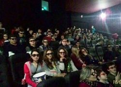 Estudantes de Cotiporã comemoram seu dia no cinema