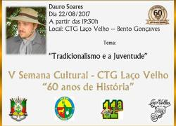 CTG Laço Velho evidencia a relação dos jovens com o tradicionalismo