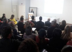Servidores participam aula inaugural de capacitação sobre o setor público em Bento