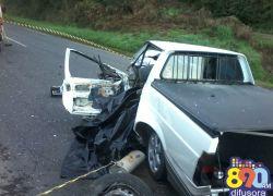 Identificado homem morto em acidente na BR 470