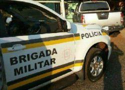 Caminhonete clonada com placas de Bento e usada em ataque a agências em Coronel Bicaco é apreendida em Ijuí