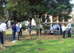 Prefeito autoriza construção de banheiros na praça da Matriz em Garibaldi