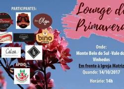 Lounge de Primavera ocorre neste sábado em Monte Belo