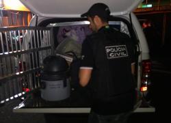 Polícia Civil apreende objetos de furtos e roubos em Bento e região
