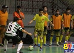 Liga Municipal de Futsal tem jogos das quartas de finais nesta noite em Bento