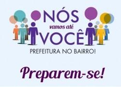 """Cadastro do kit TV digital será realizado durante o """"Prefeitura no Bairro"""" em Bento"""