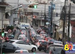 Frota cresce no semestre e Bento tem 0,72 veículo por habitante