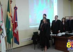 OAB entrega credenciais para novos advogados em Bento