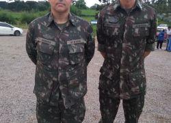 Novo comandante do 6º BCOM chega a Bento