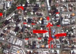 Trânsito muda na 13 de Maio com chegada do Papai Noel em Bento