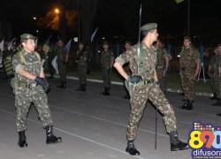 Ato formaliza passagem de comando e TC Marinho assume o 6ºBCOM