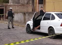 Duas mortes violentas são registradas neste domingo em Bento