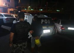 POE prende homem por tráfico de drogas em Bento