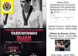 UCS recebe camping internacional de treinamento de taekwondo
