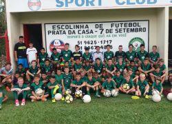 Atletas da base do Esportivo participam de torneio em Santa Clara do Sul