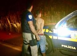 PRF prende detento 12h depois de fugir de instituto penal