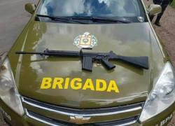 Brigada Militar localiza fuzil no interior de Monte Belo