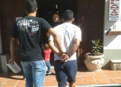 Acusado de roubos é preso ao se apresentar para depoimento em Bento