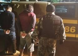 Brigada Militar prende dupla de foragidos no Ouro Verde em Bento