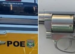 Idoso é preso por porte ilegal de arma de fogo em Caxias do Sul