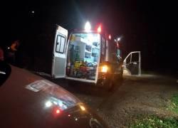Acidente com três veículos deixa três pessoas feridas na Serra das Antas na BR-470 em Bento