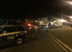 PRF e BM fazem ação conjunta de fiscalização em São Marcos