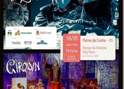 Grupo Tholl e os Gaudérios realizam show na abertura das comemorações do Dia do Vinho em Flores da Cunha