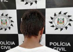 Suspeito de furtos ao comércio é preso em Canela