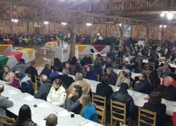 Mais de 800 pessoas comparecem ao 7º Jantar Baile do STIMMME em Bento