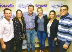 Sossella recebe comitiva liderada por vereador Sganzerla de Pinto Bandeira