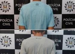 Defrec de Caxias do Sul prende dois indivíduos investigados por roubo de veículo