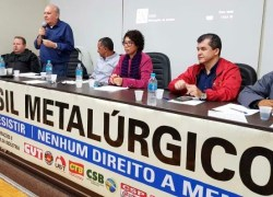Brasil Metalúrgico reforça defesa da unidade em reunião na Serra