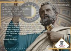 Sexta-feira de feriado de São Pedro, o padroeiro de Garibaldi