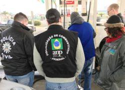 Fiscalização em posto de combustível interdita bomba que apresentava vazamento em Canoas