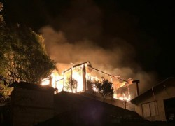 Incêndio atinge residência no bairro Santa Rita em Veranópolis