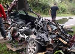 Jovem fica ferido em acidente na ERS-453 em Boa Vista do Sul