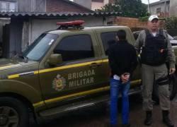 Procurado da justiça é preso pela Brigada Militar de Garibaldi