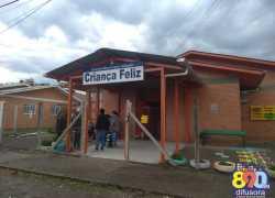 Destelhamento suspende aulas nesta terça na Escola Municipal Infantil Criança Feliz em Bento