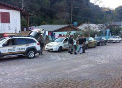 Brigada Militar prende integrantes de quadrilha em Serafina Corrêa