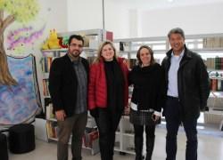 Ministério da Cultura visita praça CEU no Ouro verde em Bento