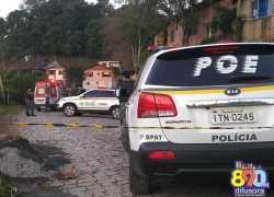 Mãe e filha são mortas a tiros no bairro Borgo em Bento