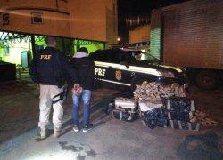 Homem é preso por transportar 220kg de maconha em caminhão de mudança em Porto Alegre
