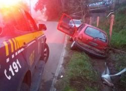 PRF recupera veículo furtado e prende homem em Caxias do Sul