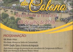 Festa do Colono de Cotiporã contará a história da imigração