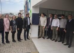 Ato inaugura a Praça CEU no bairro Ouro Verde em Bento